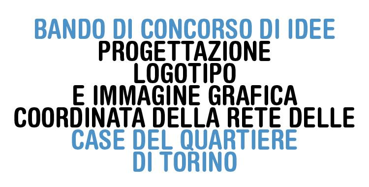 BANDO DI CONCORSO DI IDEE