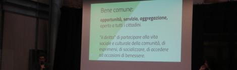Cittadini capaci di azioni collettive nel produrre Beni Comuni: un confronto fra buone prassi ed esperienze di partecipazione.