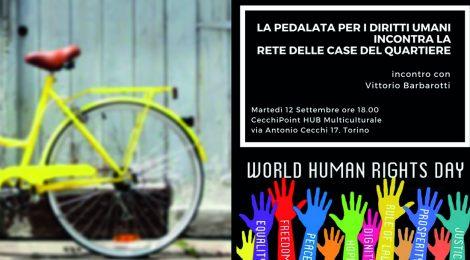 La Pedalata per i Diritti Umani incontra La Rete delle Case