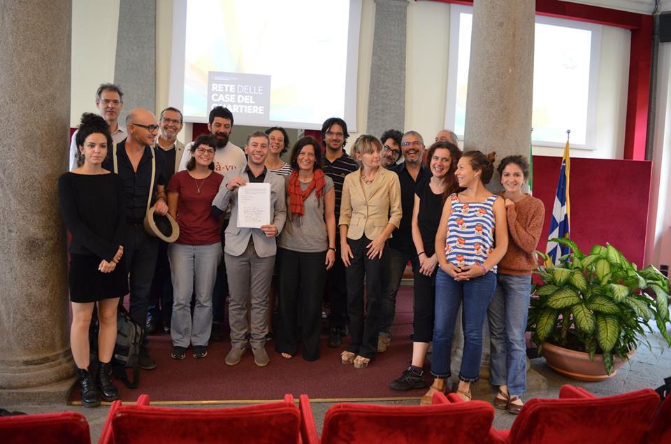 Un patto tra la Città di Torino e la Rete delle Case del Quartiere per la promozione di strutture intermedie per la cittadinanza attiva