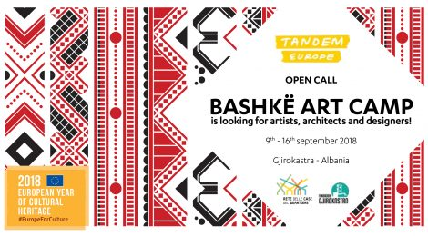 CALL FOR APPLICATION per partecipare al BASHKË ART CAMP