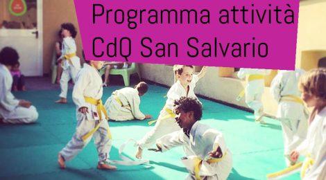 CDQ SAN SALVARIO - NUOVI CORSI, LABORATORI, ATTIVITA' 2018-2019