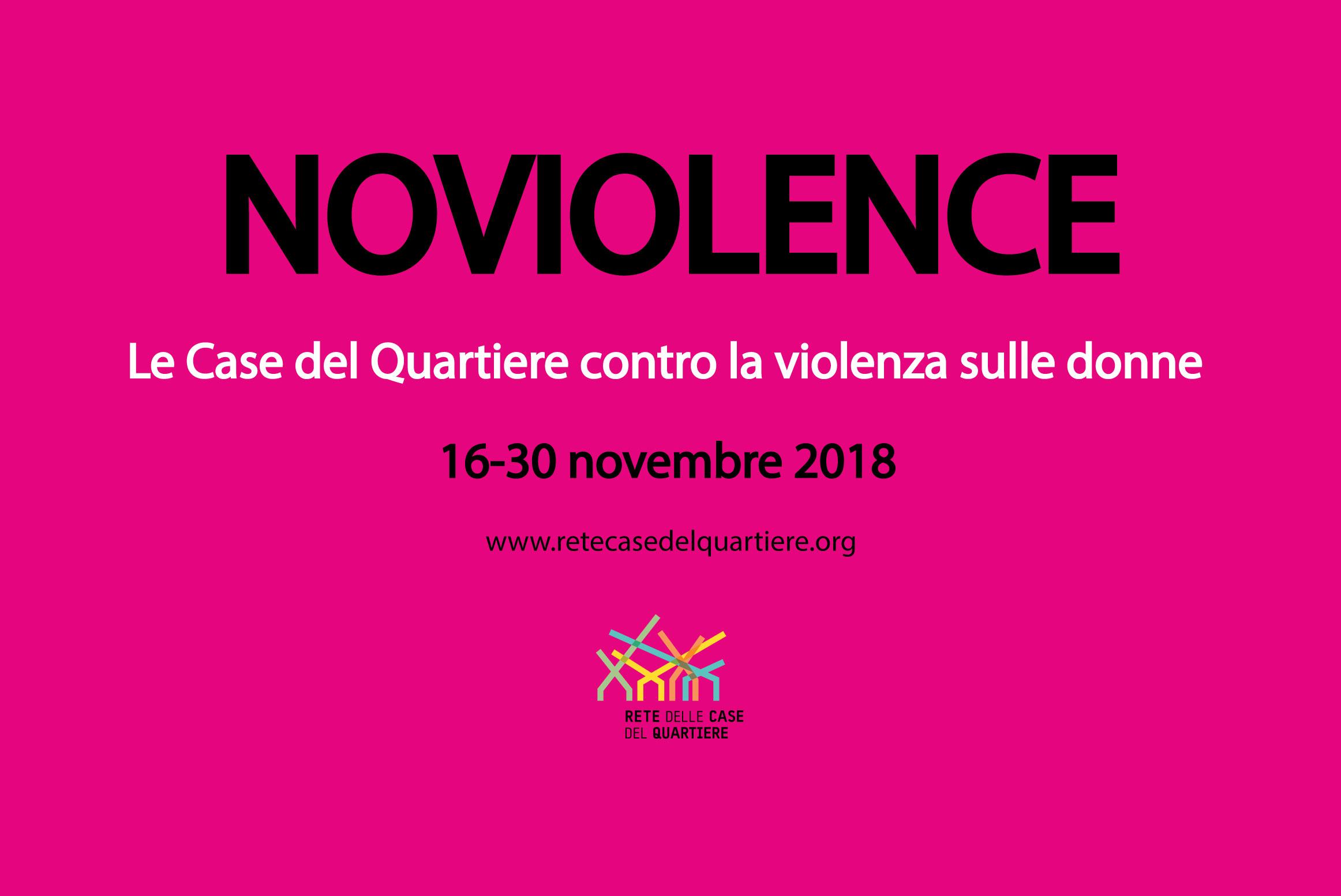 NOVIOLENCE-Le Case del Quartiere contro la violenza sulle donne