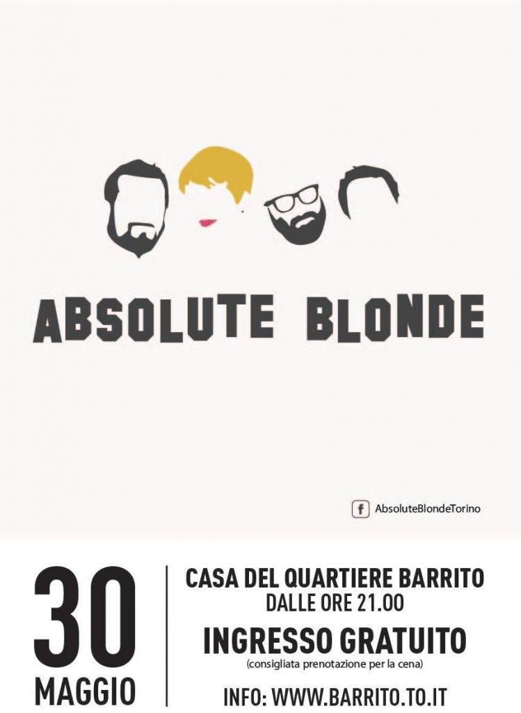 Absolute Blonde al Barrito
