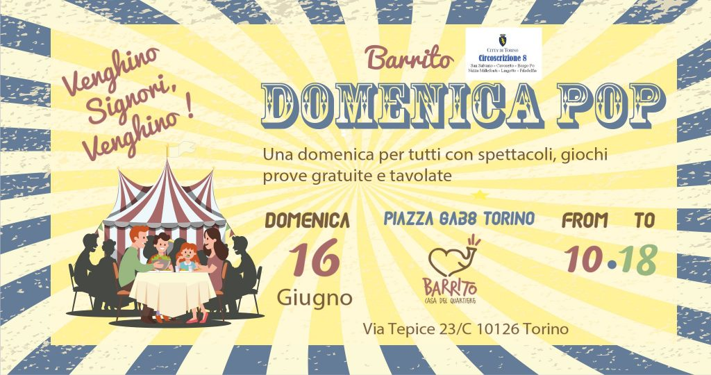 La Doemenica POP al Barrito