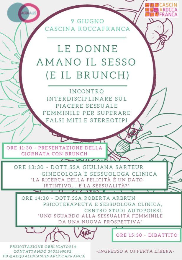 Le donne amano il sesso e il brunch in Cascina Roccafranca