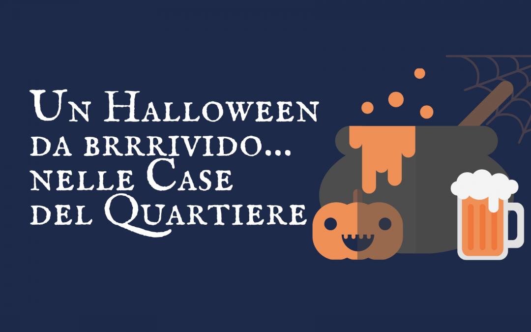 Un Halloween da brrrivido nelle Case del Quartiere