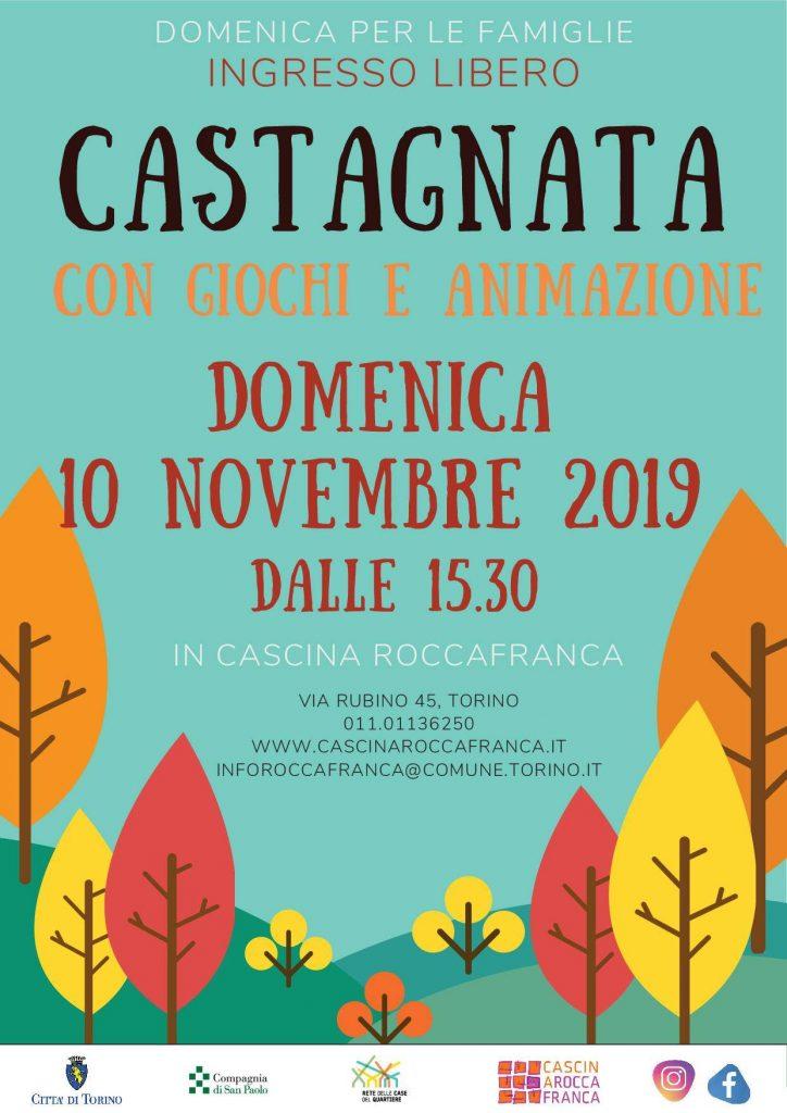 Castagnata in Cascina Roccafranca