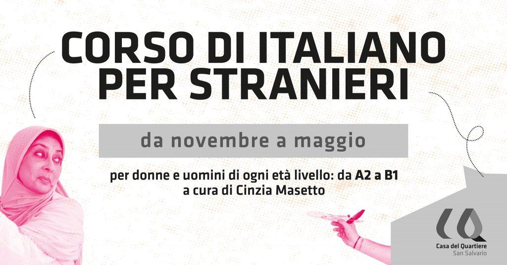 Corso di Italiano per stranieri alla Casa del Quartiere di San Salvario