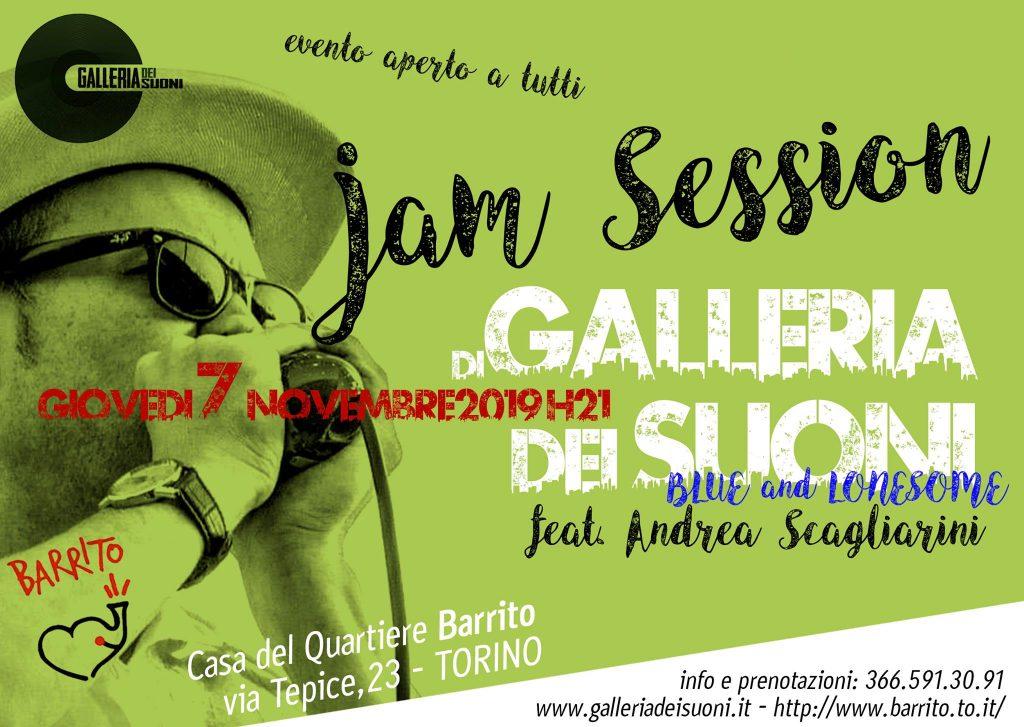 Jam Session di Galleria del Suoni al Barrito