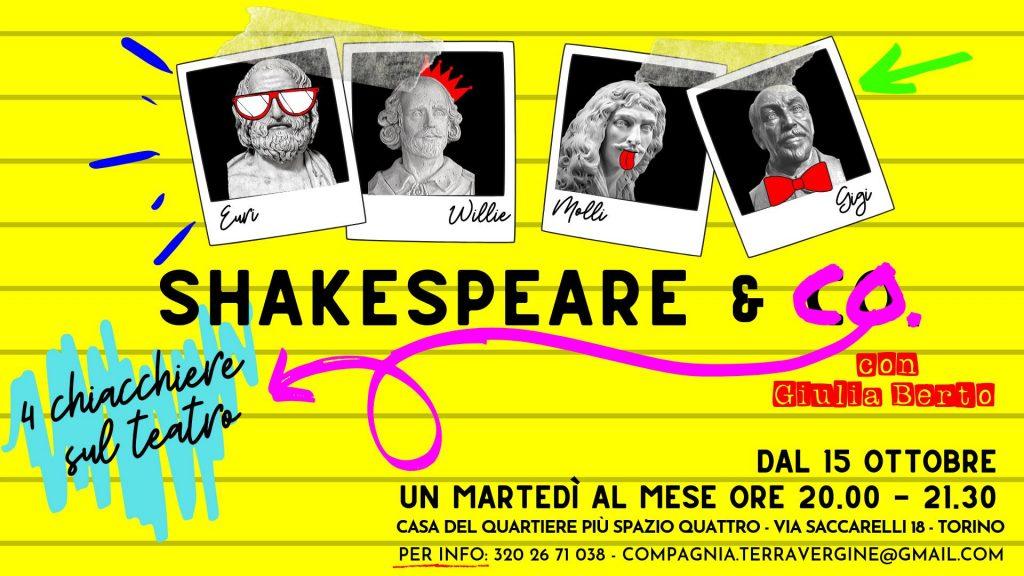 Shakespear & Co. a Più Spazio Quattro