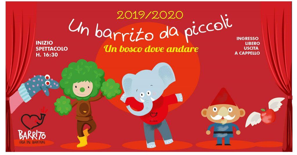 Un Barrito da piccoli 2019-2020 alla Casa del Quartiere di Nizza-Millefonti