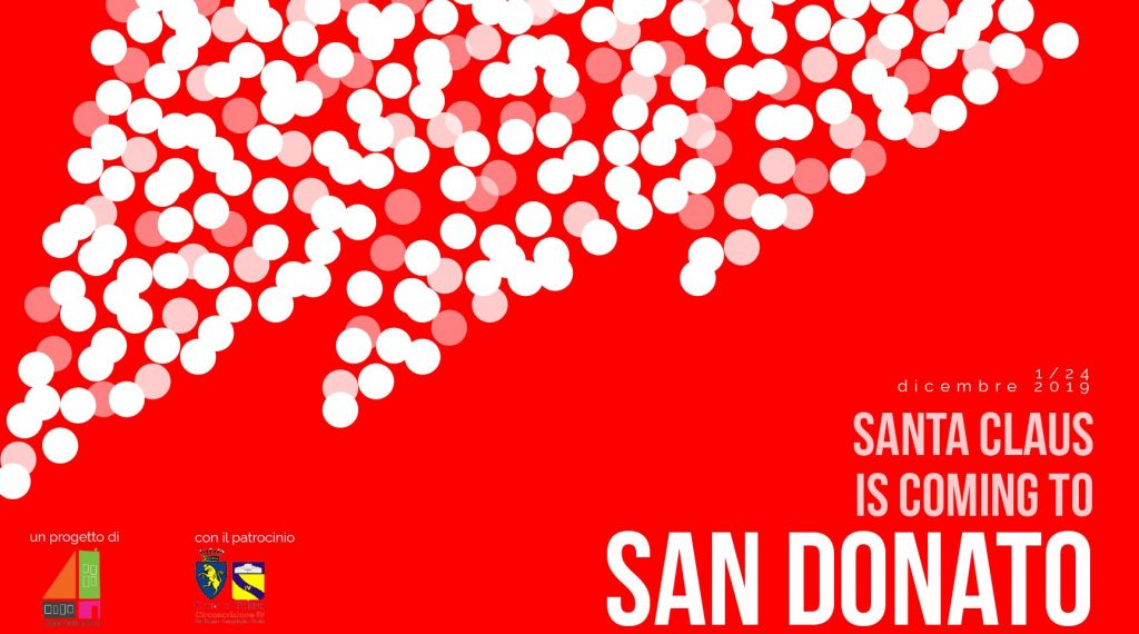 Santa Claus is coming to San Donato