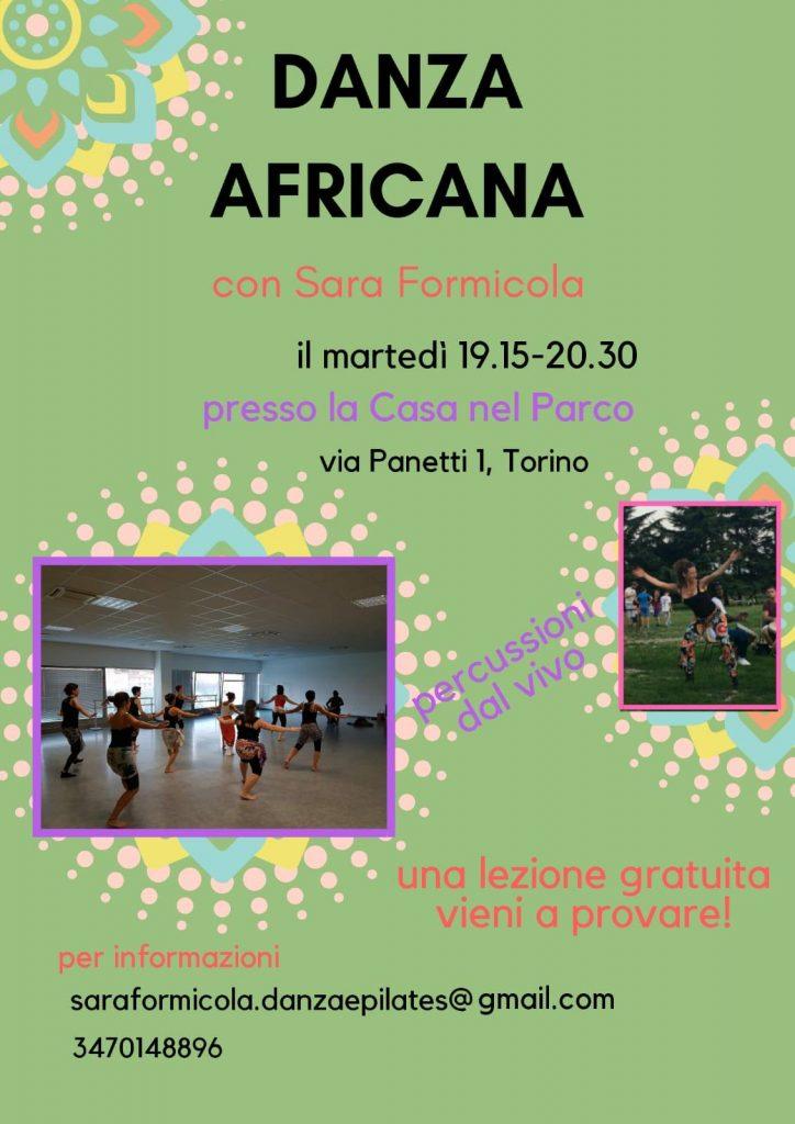 Danza africana alla Casa nel Parco
