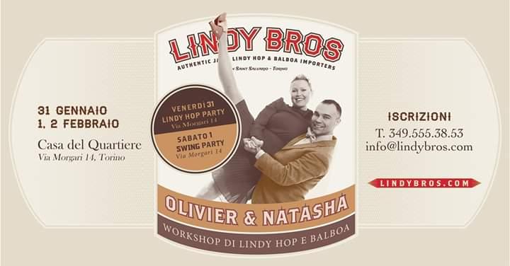 Lindy Bros alla Casa del Quartiere di San Salvario