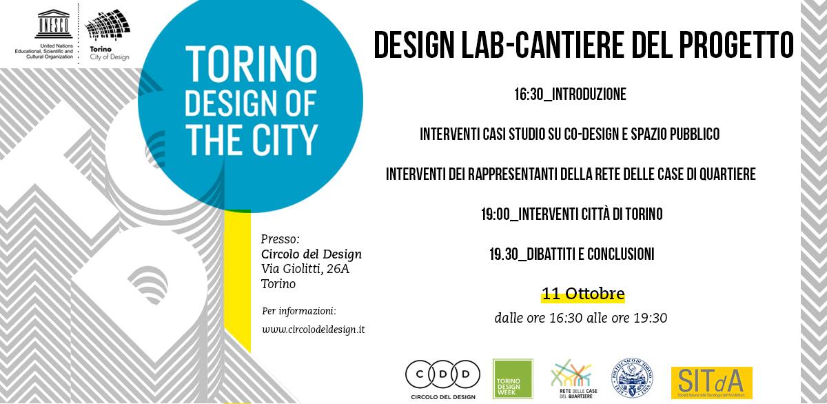 Workshop: Design Lab – Cantiere del progetto